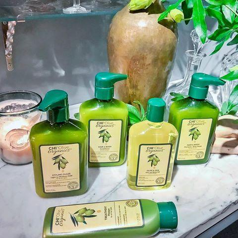 CHI Olive Organics Olive, купить масло для волос www.hairpersona.ru