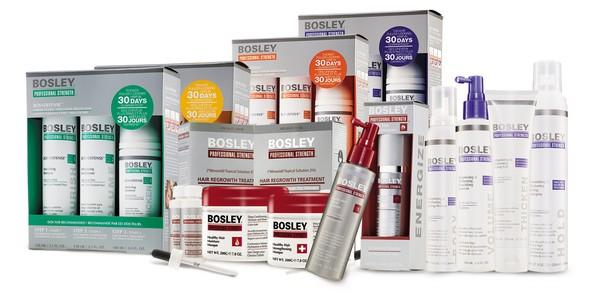 bosley косметика для волос