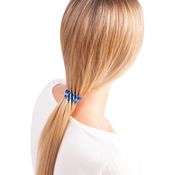 Invisibobble - Резинка-браслет для волос Navy Blue (Синяя) 3 шт