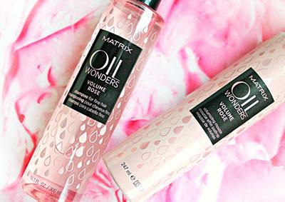 MATRIX OIL WONDERS Volume Rose - Объем и питание тонких волос