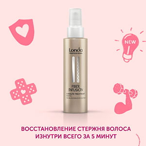 Londa Fiber Infusion - Средство с кератином 100 мл