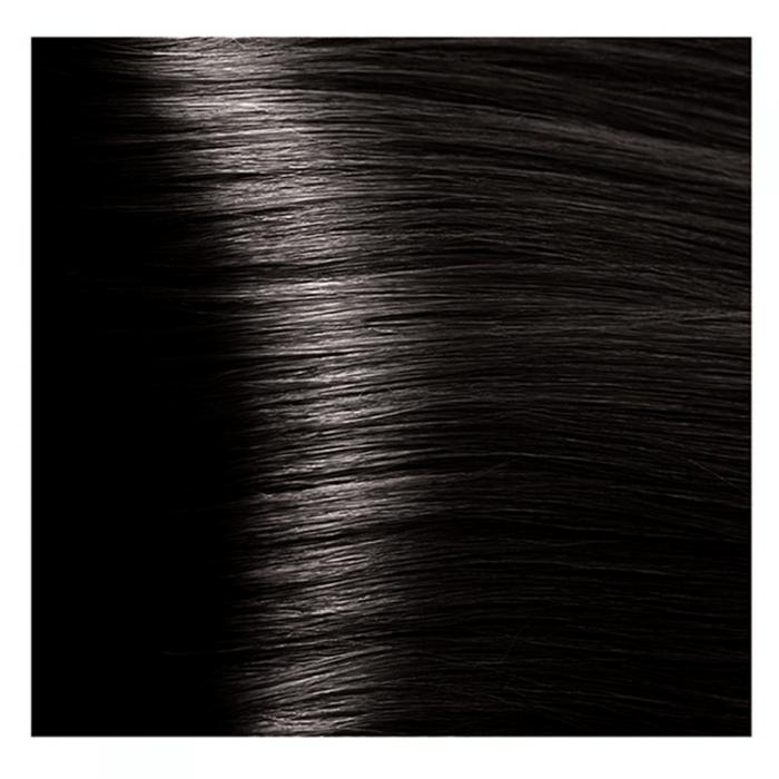Кapous Краска для волос 3.00 Темно-коричневый интенсивный / Капус Hyaluronic acid 100 мл