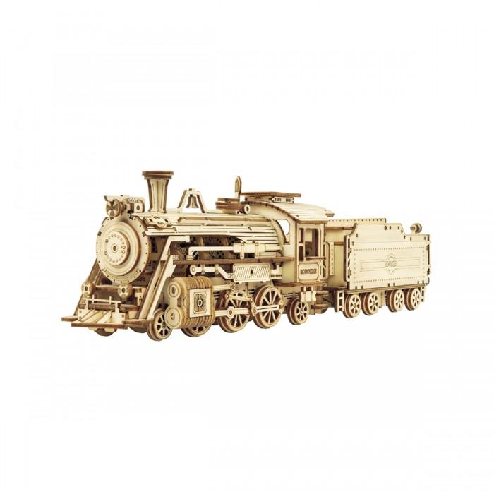 Деревянный конструктор Robotime паровой экспресс Prime Steam Express