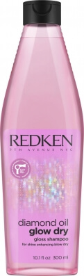 Redken Diamond Oil Glow Dry Gloss Shampoo - Шампунь усиление блеска 300 мл