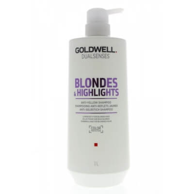 Goldwell Blondes & Highlights Anti-Brassiness Shampoo - Шампунь против желтизны 1000мл