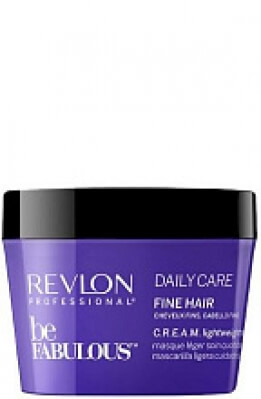 Revlon Be Fabulous Daily Care Fine Hair Lightweight Mask - Маска для тонких волос 200 мл