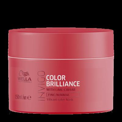 Wella Brilliance Крем-маска Блеск для окрашенных жестких волос (Велла) 150мл