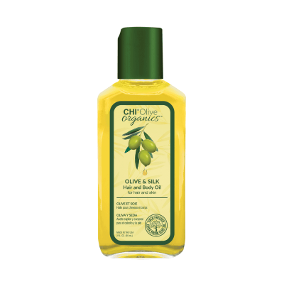 CHI Olive Organics Olive & Silk Hair and Body Oil - Масло для волос и тела 59 мл