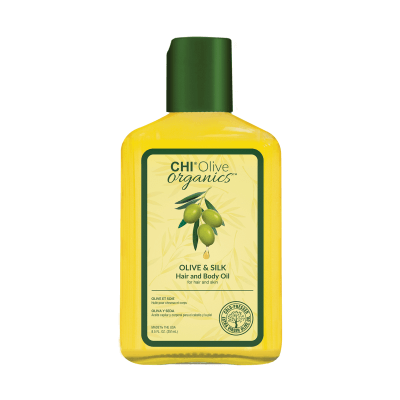 CHI Olive Organics Olive & Silk Hair and Body Oil - Масло для волос и тела 251 мл