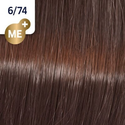 Wella Koleston Perfect ME+ Крем-краска cтойкая 6/74 Красная планета 60мл