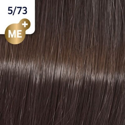 Wella Koleston Perfect ME+ Крем-краска cтойкая 5/73 Кедр 60мл