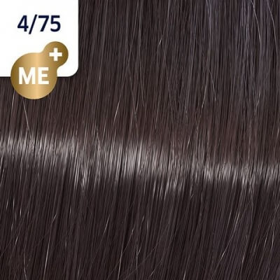 Wella Koleston Perfect ME+ Крем-краска cтойкая 4/75 Бомбейский палисандр 60мл