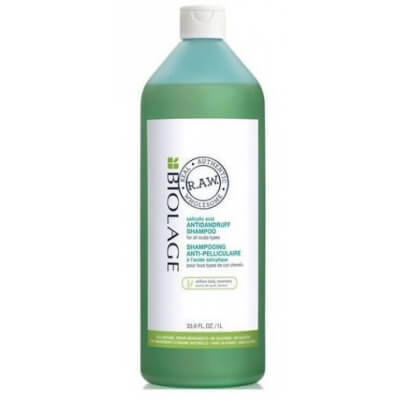 Matrix Biolage R.A.W Scalp care Antindandruff Shampoo - Шампунь против перхоти с экстрактом розмарина и коры ивы, 1000 мл