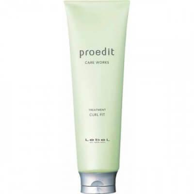 Lebel Cosmetics Маска для тонких/волнистых волос Proedit Curl Fit 250мл