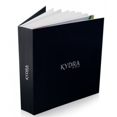KYDRA 2017 Color Chart - Карта цветов Kydra 2017