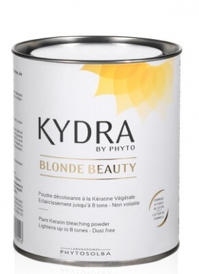 KYDRA Plant Keratin bleaching powder BLONDE BEAUTY - Блондирующая пудра 500мл