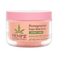 Hempz Body Scrub -Sugar & Pomegranate - Скраб для тела Сахар и Гранат 176гр