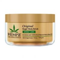 Hempz Original Herbal Sugar Body Scrub - Скраб для тела Оригинальный 176гр