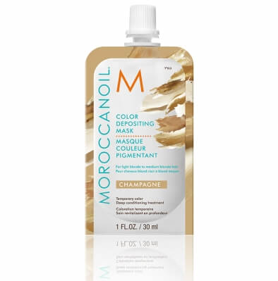 Moroccanoil Color Depositing Mask Champagne Тонирующая маска Шампань 30 мл