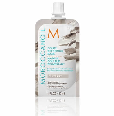 Moroccanoil Color Depositing Mask Platinum Тонирующая маска Платина 30 мл