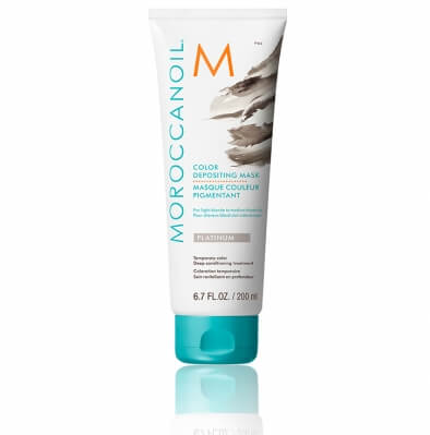 Moroccanoil Color Depositing Mask Platinum Тонирующая маска Платина 200 мл