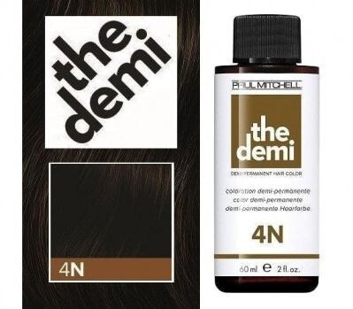 Paul Mitchell The Demi 4N - Безаммиачный краситель 60 мл