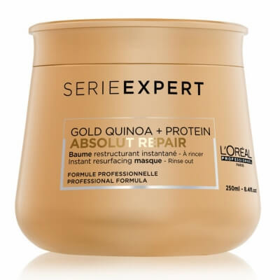 Loreal Absolut Repair Gold Quinoa + Protein - Восстанавливающая маска с кремовой текстурой 250 мл