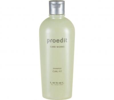 Lebel Cosmetics Шампунь для тонких/волнистых волос  Proedit Curl Fit 300мл