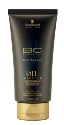Schwarzkopf Bonacure Oil Miracle Gold Shimmer Conditioner Кондиционер Золотое сияние 150мл