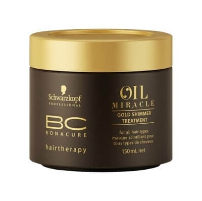 Schwarzkopf Bonacure Oil Miracle Golden Shimmer Treatment Маска Золотое сияние 150мл