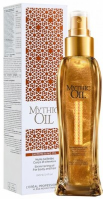 Loreal Mythic Oil Shimmerring - Мерцающее масло для волос и тела 100мл
