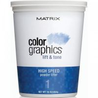 Matrix Colorgraphics Lift & Tone Powder Lifter - Ультрабыстрая осветляющая пудра 454гр