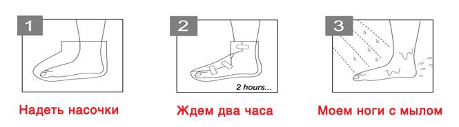 Носочки для педикюра с травами, Beauty Foot купить
