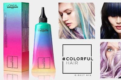 Макияж для волос ColorFul Hair