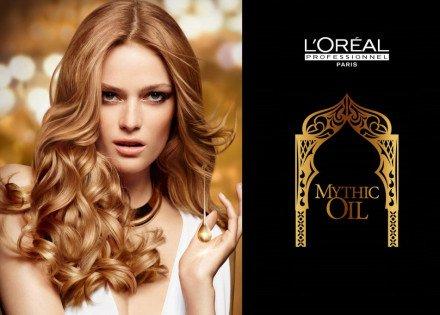 Loreal Mythic Rich Oil Дисциплинирующее масло для непослушных волос 100мл