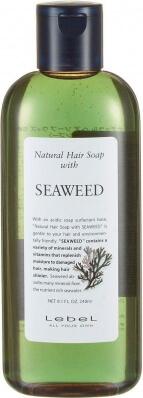 Lebel Cosmetics Шампунь Seaweed Морские водоросли (Лебел Косметикс), 240мл